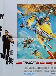James Bond: You Only Live Twice Movie Poster