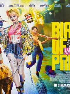 Birds of Prey: The Fantabulous Emancipation of One Harley Quinn Movie Poster