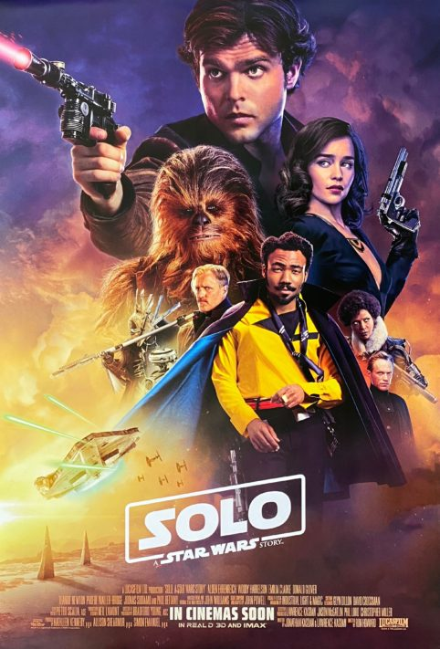 Solo: A Star Wars Story Movie Poster