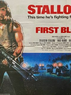 First Blood: Rambo Movie Poster