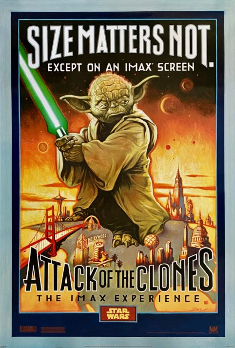 Star Wars: Episode II - Attack of the Clones Movie Poster