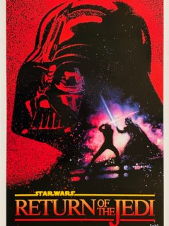 Star Wars Episode VI - Return of the Jedi Movie Poster