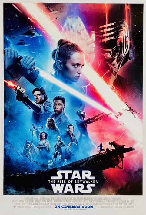 Star Wars: Episode IX - The Rise of Skywalker Movie Poster