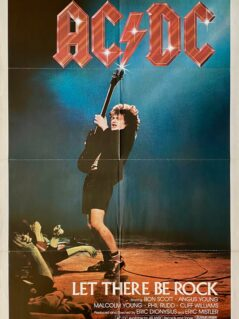 AC/DC: Let There Be Rock Movie Poster