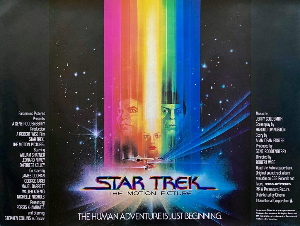 Original Star Trek The Motion Picture Movie Poster William Shatner