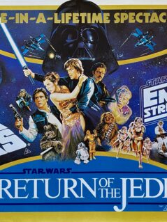 Original Trilogy: Star Wars / The Empire Strikes Back / Return of The Jedi Movie Poster