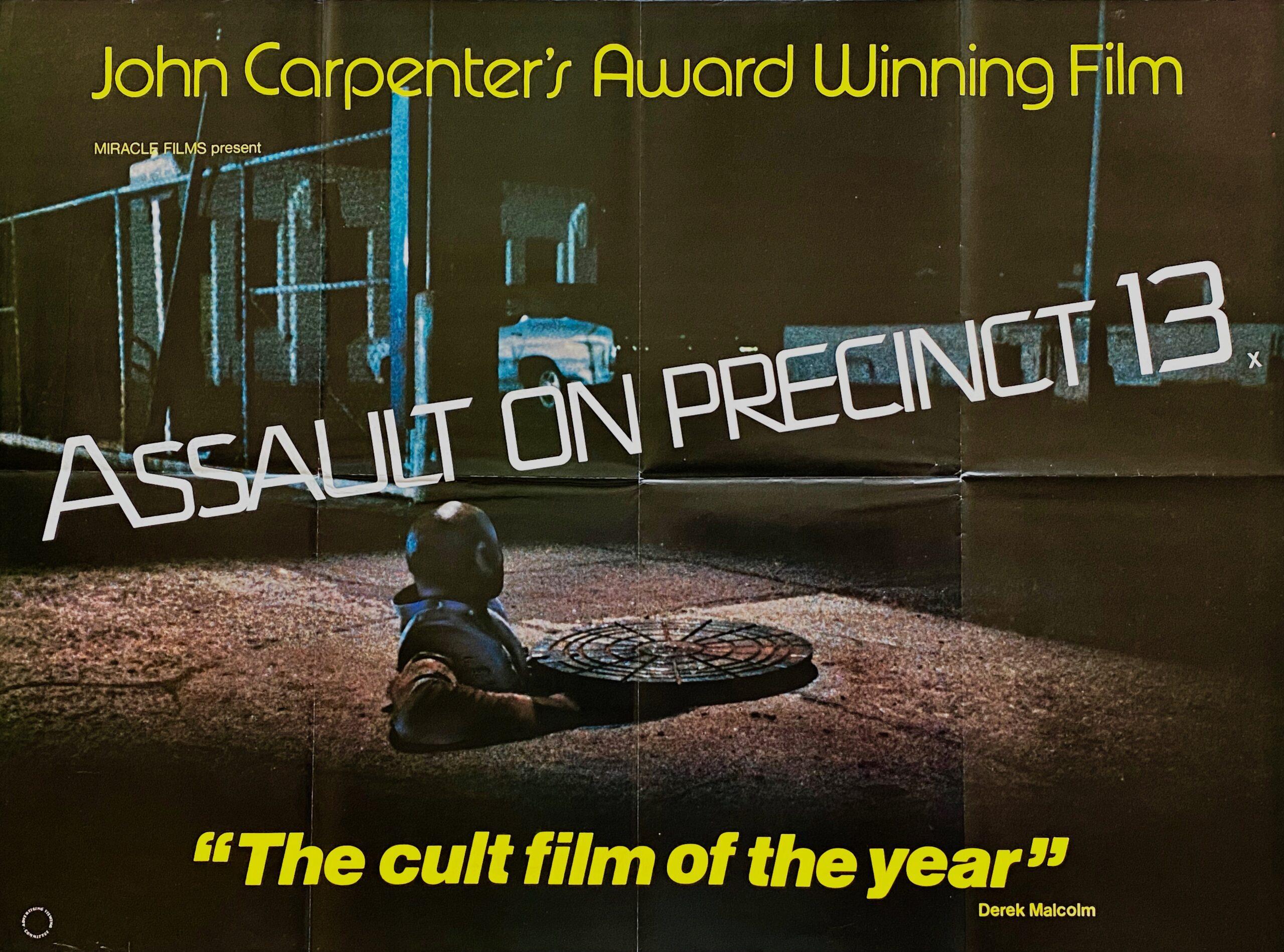 Original Assault on Precinct 13 Movie Poster - John Carpenter - Thriller