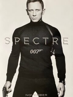 James Bond: SPECTRE Movie Poster