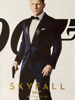 James Bond: Skyfall Movie Poster