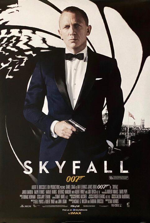 James Bond: Skyfall Movie Poster