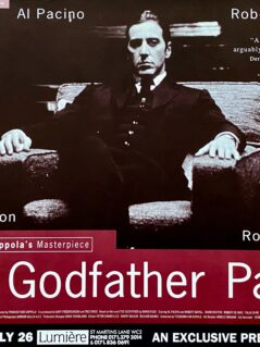 Godfather: Part II Movie Poster