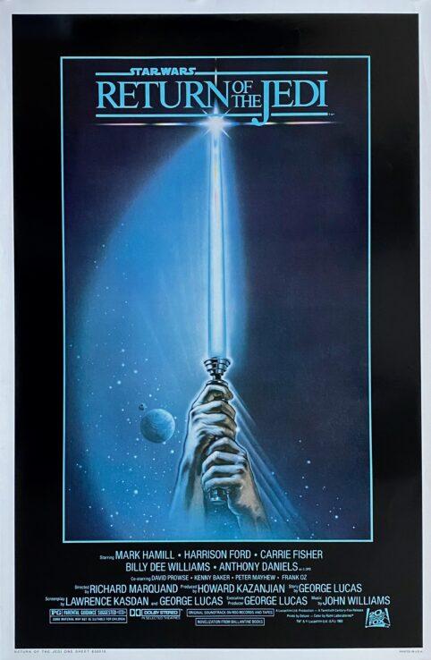 Star Wars Episode VI Return of the Jedi Movie Poster