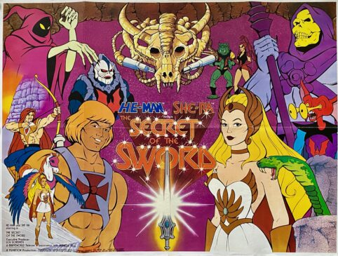 He-Man and She-Ra: The Secret of the Sword Movie Poster