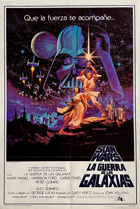 Star Wars Episode IV - A New Hope Movie Poster