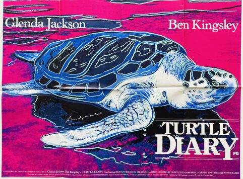 Turtle Diary Movie Poster
