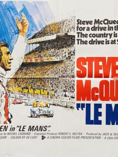 Le Mans Movie Poster