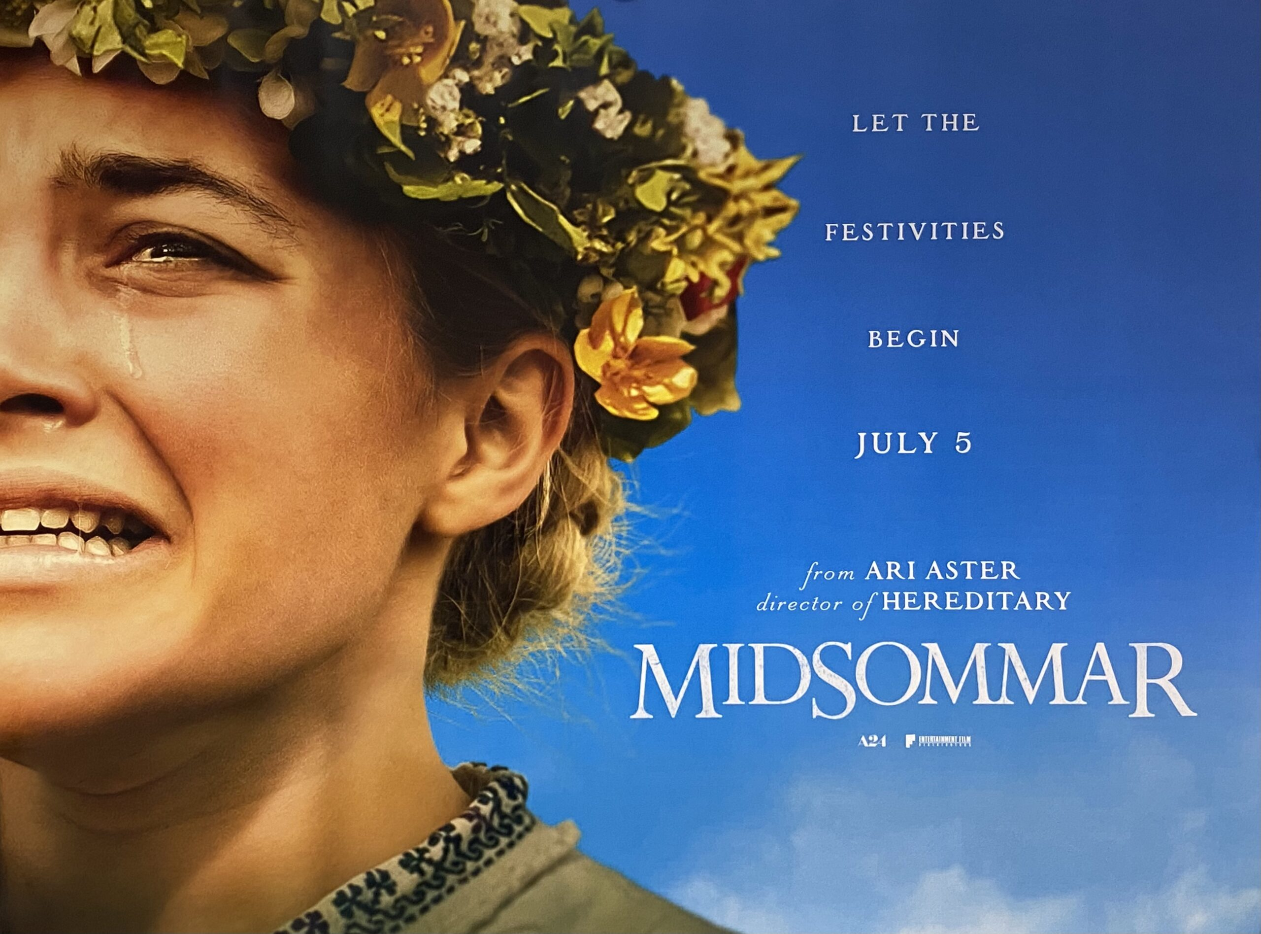 Original MidSommar Movie Poster - Ari Aster - Florence Pugh - Horror