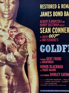 James Bond: Goldfinger Movie Poster