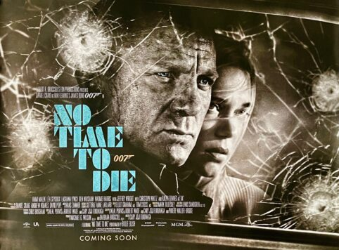 James Bond No Time To Die Movie Poster