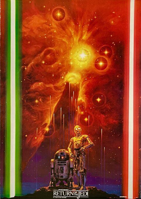 Star Wars: Episode VI Return of the Jedi Movie Poster