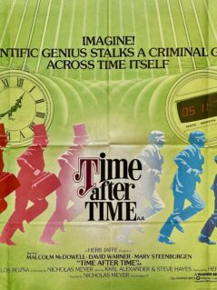 Time After Time Movie Poster