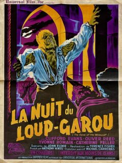 Curse of the Werewolf Movie Poster