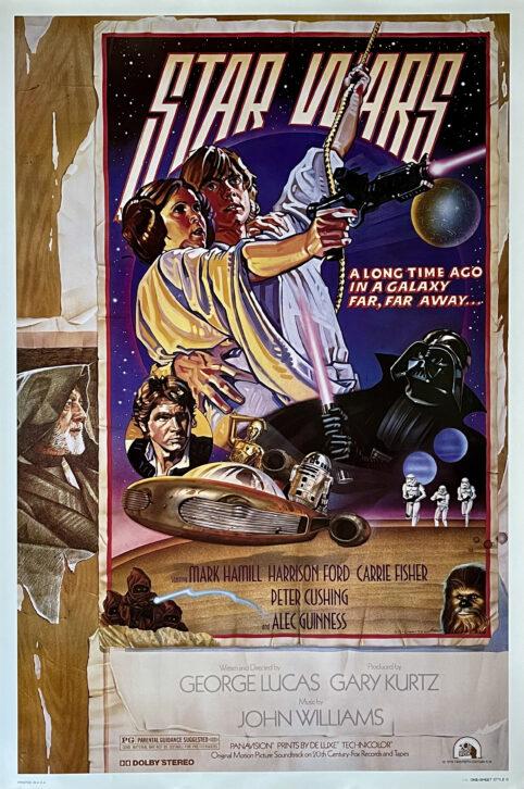 Original Star Wars: Episode IV - A New Hope Movie Poster